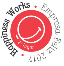 Logótipo Happiness Works Empresa Feliz 2017