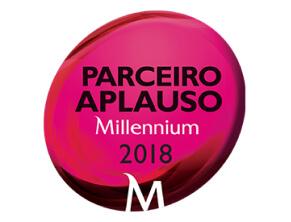 Logótipo Parceiro Aplauso Millennium 2018