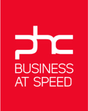 Logótipo PHC Business at Speed