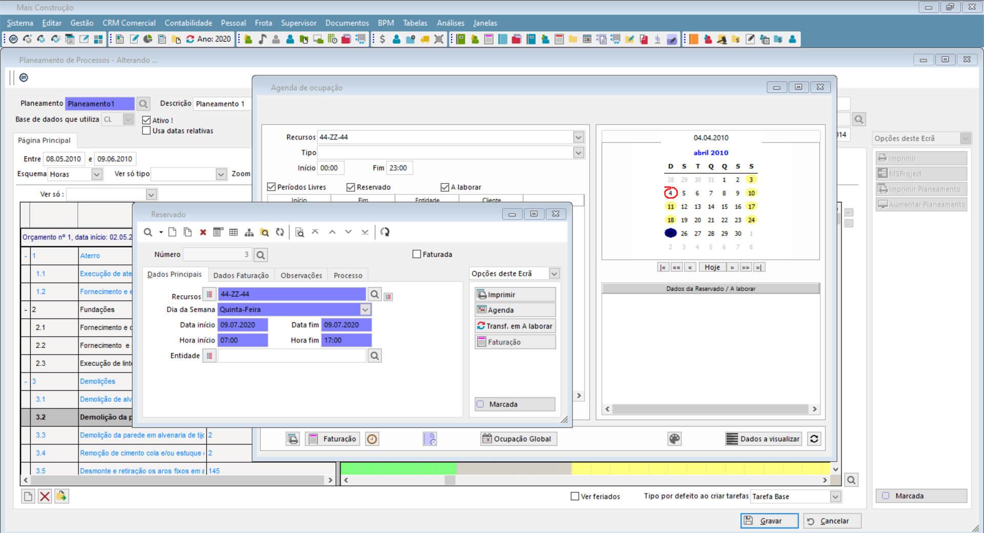 Screenshot Software de Gestão e ERP PHC CS