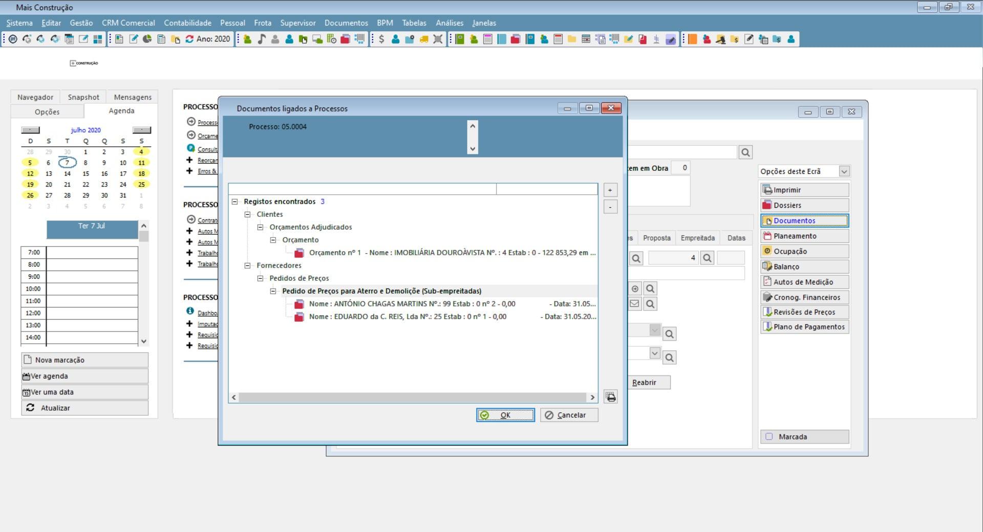Solução de Gestão para construção civil - PHC CS BPM Desktop e Web