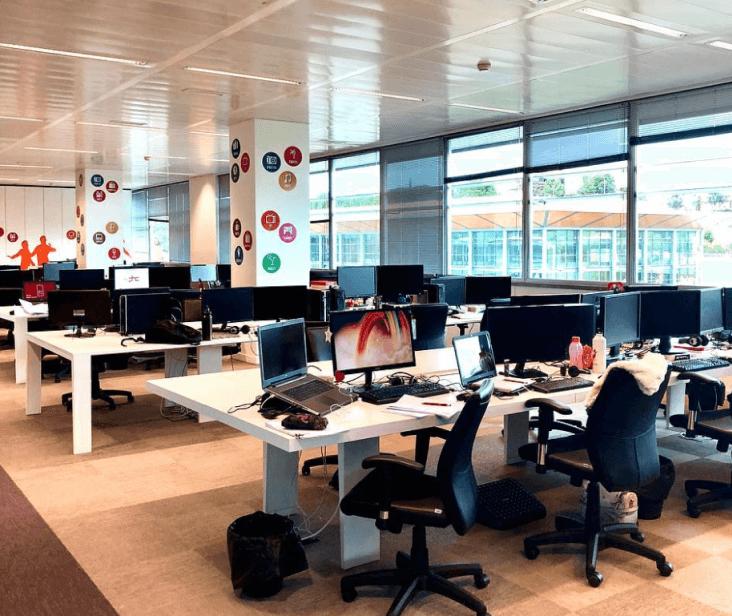 Escritório da PHC Software em Lisboa